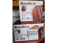 Breville kettle an toaster set
