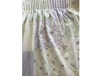 Dorma double bedding and curtains