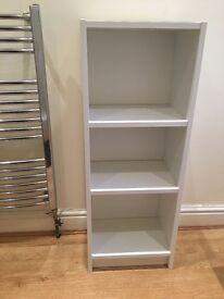 White Ikea Shelving Unit