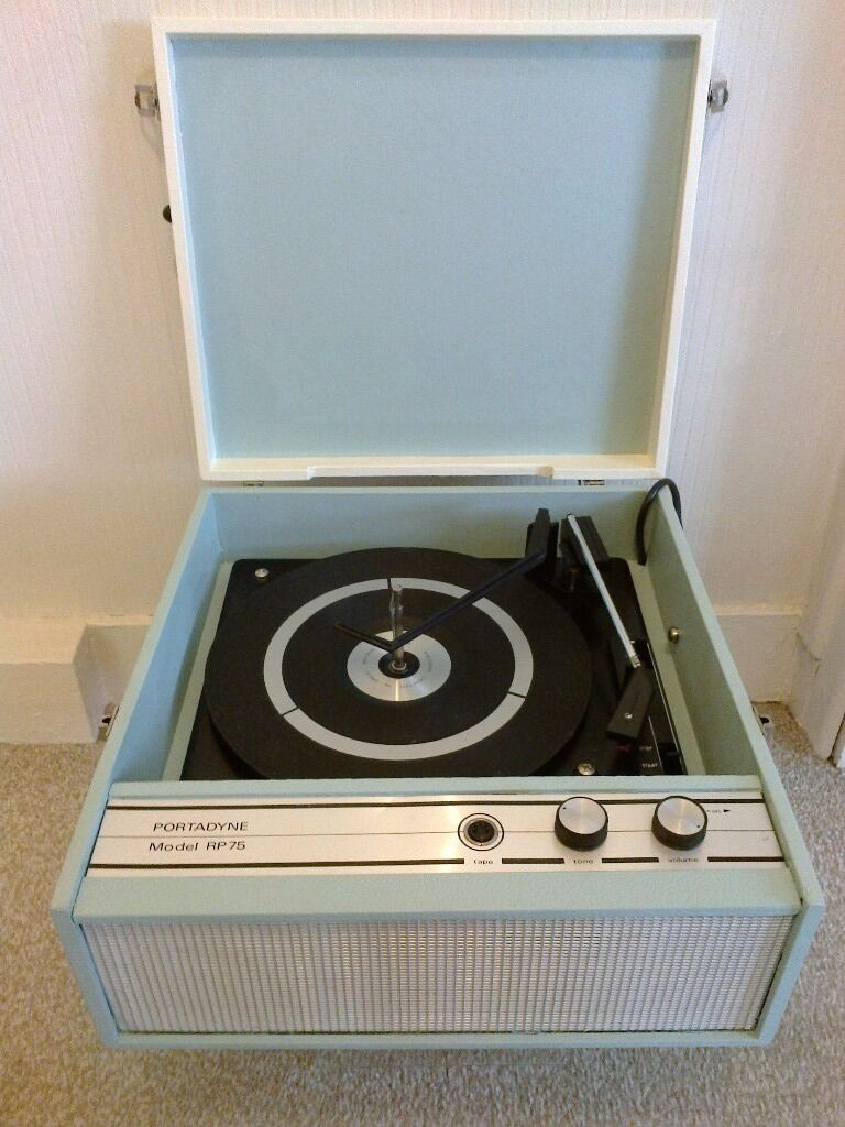 superb 1960 39 s portadyne rp75 record player full working order in county antrim gumtree. Black Bedroom Furniture Sets. Home Design Ideas