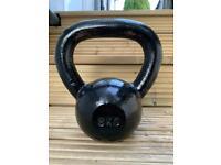8kg Cast Iron Kettlebell, Jordan Fitness, gym grade weights