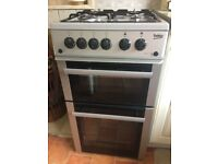 Beko Gas Cooker, as new 6 months old