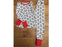 PolarnOpyret Panda Pyjamas Age 6-8