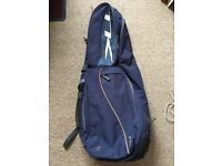 Hockey Bag. Used but in good condition. Spacious. Back pack straps.