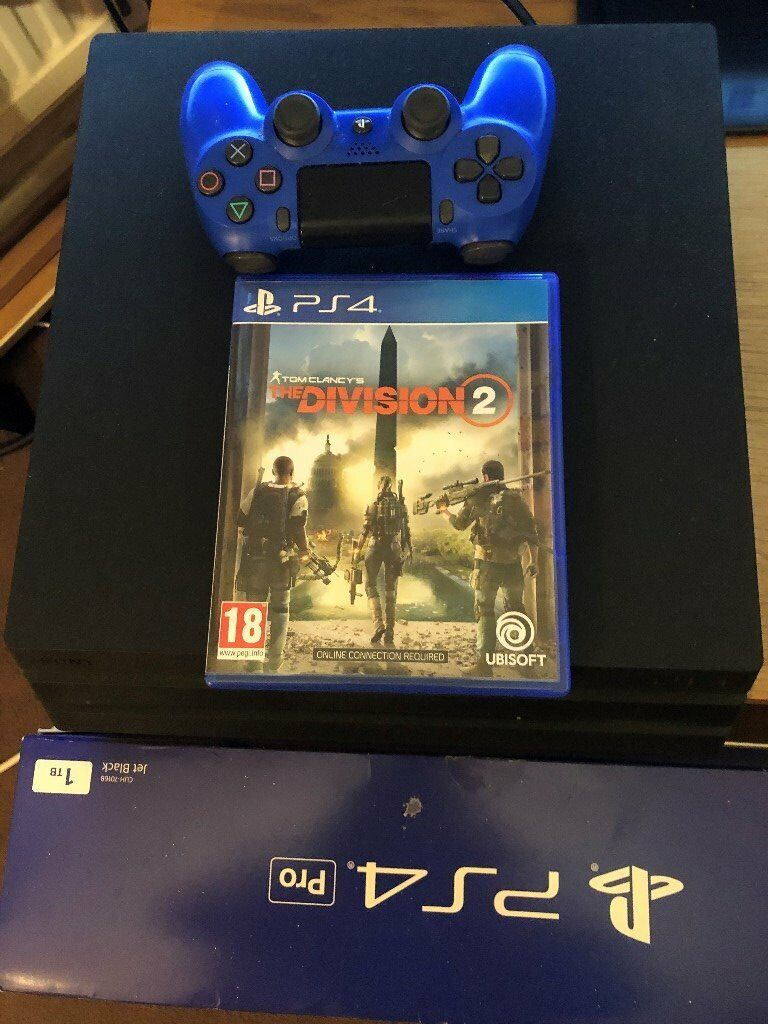 Ps4 pro 1tb hard drive 4k ready with box | in Rochdale ...