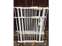 Set of three Lindam safety gates