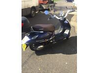 Lexmoto Verona 125cc Moped Low Mileage 700 ONO