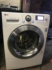 LG direct drive washer dryer 11kg