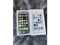 IPhone 5s 16gb white silver Ee T-Mobile virgin