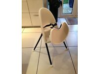 Babybjorn high chair with seatbelt