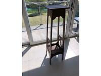 PLANT STAND VINTAGE LARGE WOODEN ART DECO SHOP WINDOW DISPLAY