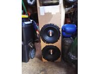 10 inch jbl gt 10 in tuned and ported box