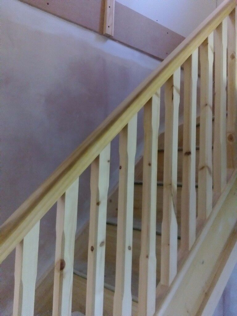 Top quality brand new wood and mdf staircase made by twotwenty
