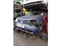 2001 VW GOLF MK4 1.9 TDI (NON-PD) BREAKING FOR PARTS
