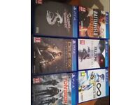 playstation 4 games look at ad prices on it