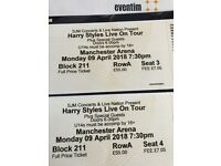 Harry Styles Manchester 2 tickets £50 eachperforming 2 new singles