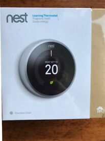 3rd GENERATION NEST THERMOSTAT UNOPENED