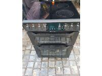 Black Belling 60cm electric cooker, excellent condition,4 months warranty