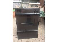 Brown electric Neff double oven and grill