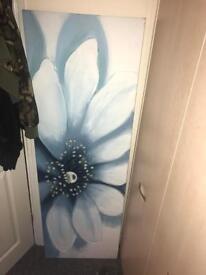 Big canvas & curtains