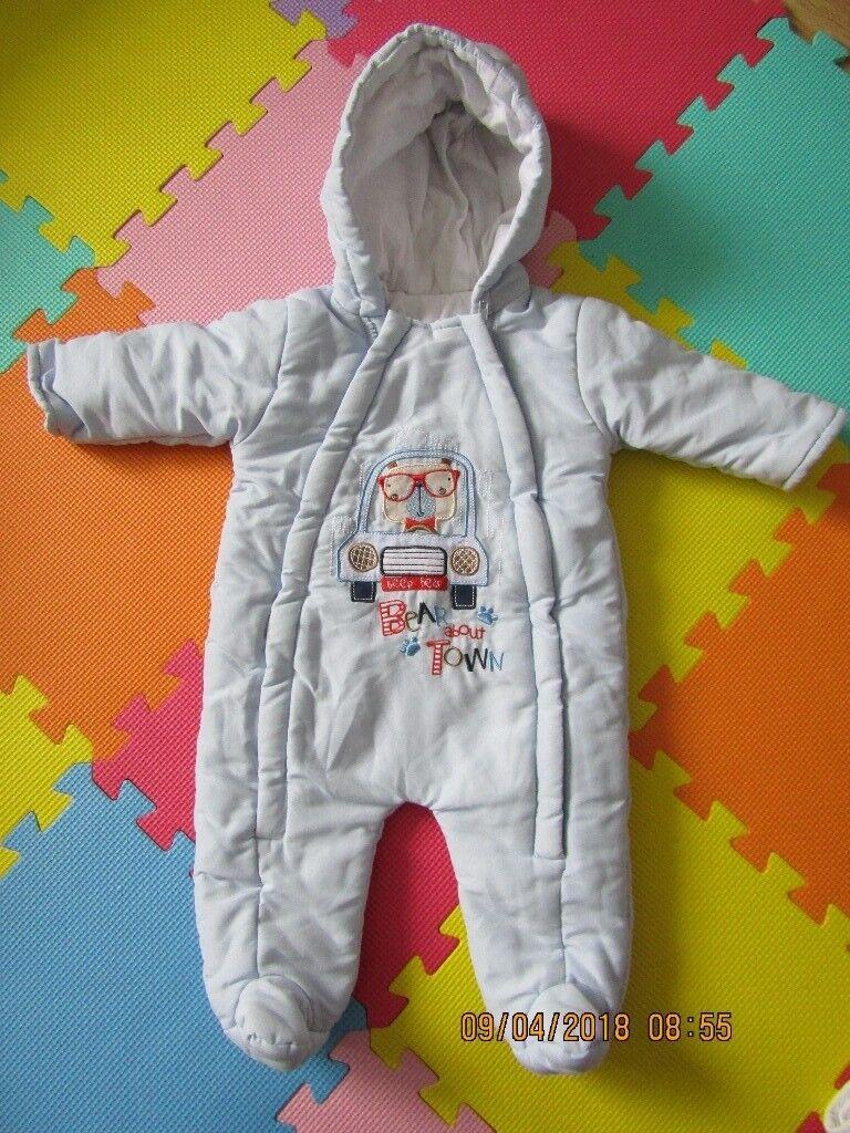 dbc201d62 baby snowsuit 3-6 months