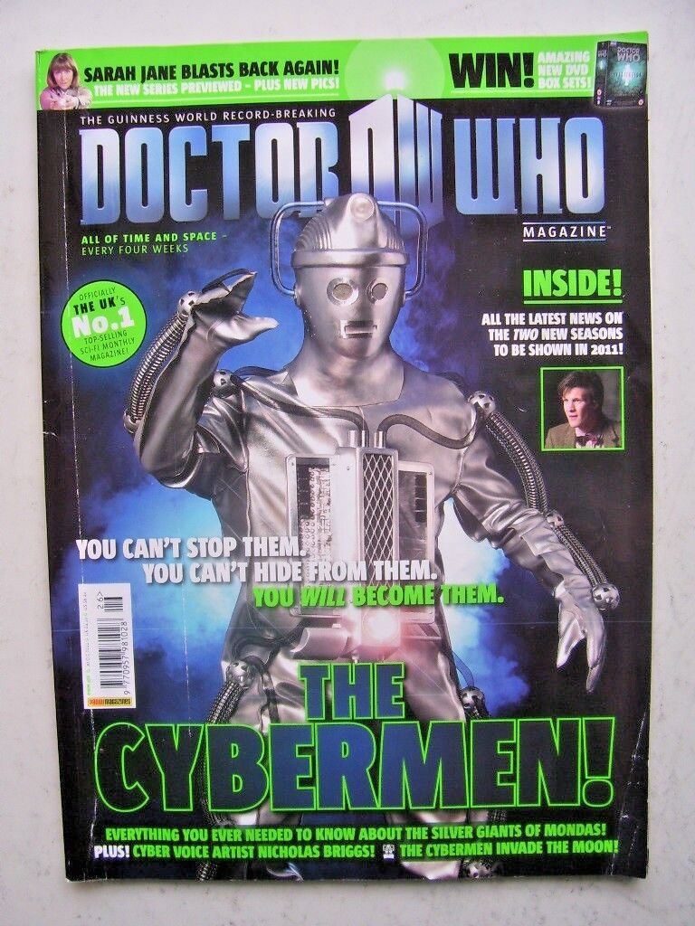 Doctor Who Magazine issue 426 -  The Cybermen!