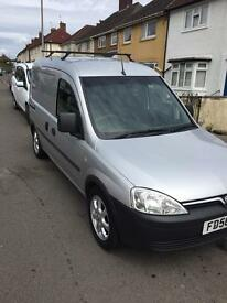 Vauxhall combo crew cab