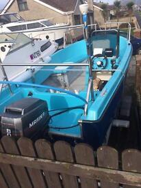 Shetland Alaska 500 boat