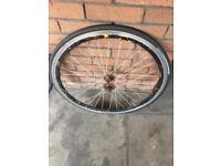 Bike wheel size 28