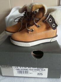 Toddlers Timberlands brand new in box size 5