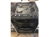 Zanussi fully gas cooker 55cm double oven two door for sale