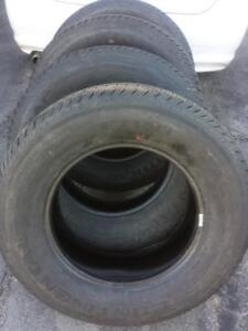 BRAND NEW PICK UP TRUCK CONTINENTAL CONTITRACK  275 / 65 / 18 ALL SEASON TIRE SET OF FOUR.