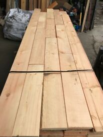 Reclaimed Pine 140mm Flooring - 250 m2 in stock!