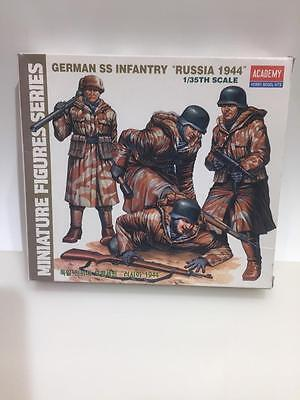 GERMAN SS INFANTRY RUSSIA 1944 ACADEMY 1378 unassembled kit 1/35