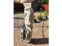 Howson set of ladies' graphite golf clubs with bag