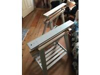Trestle table legs - adjustable - Ikea Finnvard
