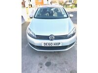 Excellent condition 2010/11 VW Golf 1.6 TDI Match FSH 51k Miles