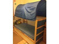 Kids Ikea Kura bunk bed