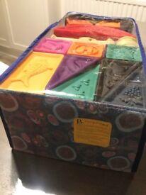 Squeeze Blocks, soft alphabet blocks for baby
