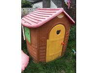 Smoby kids out door play house garden toy for children