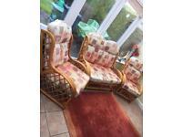 3 piece conservatory furniture