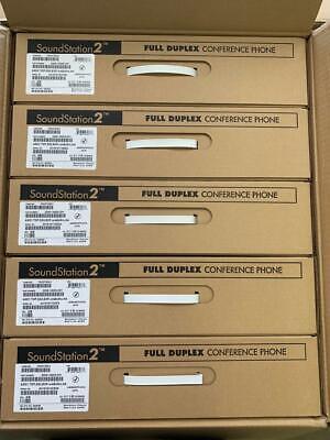 New Fs Polycom Soundstation 2 Ex Conference Phone Station 2200-16200-001new