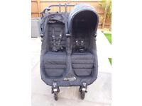 Double baby jogger city mini GT. Occasionally used. Very good condition. Will fit children age 0-5