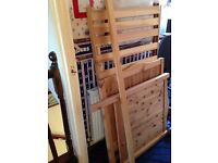 Cot bed and wardrobe