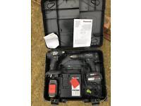 Panasonic twin set impact driver and drill