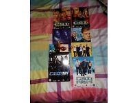 Mixture of csi boxsets