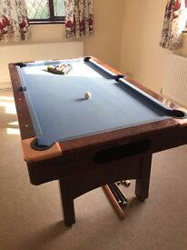 Good quality pool table for sale