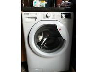 Hoover Link one touch 9kg load washing machine as new