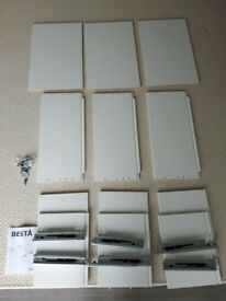 IKEA Besta storage drawers x 3 with soft close runners