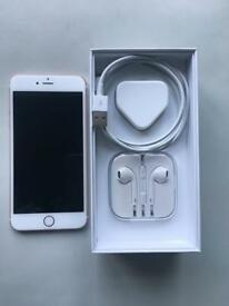 iPhone 6SPlus Rose Gold Excellent Condition Unlocked With Box/earphones/Charger 16gb